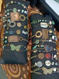 sleeve roll display  Staci Louise Originals