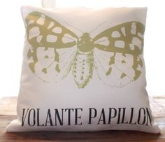 Papillon Pillow by CCurate on Etsy