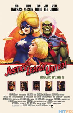 JUSTICE LEAGUE UNITED #10 inspired by MARS ATTACKS • Marco D'Alphonso