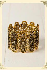 Filigree Shield Bracelet