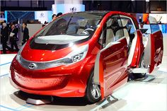 The small, electrified city car concept trend is apparently alive and well, as Tata Motors unveiled its Megapixel concept at the Geneva Motor Show today. Tata Nano, Electric Sliding Gates, Sliding Doors, Microcar, Tata Motors, Jaguar Land Rover, Geneva Motor Show, City Car, Cheap Cars