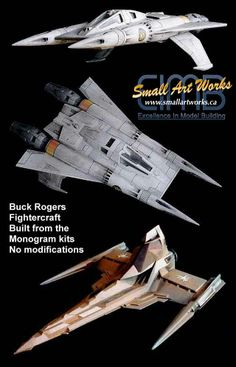 Buck Rogers ship, and Draconian fighter. Sci Fi Tv Series, Sci Fi Tv Shows, Stargate, Buck Rodgers, Sci Fi Models, Sci Fi Ships, Classic Sci Fi, Fiction And Nonfiction, Cartoon Tv
