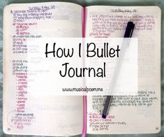 How I Bullet Journal | A step by step walkthrough of how I customize my Moleskine to bullet journal.