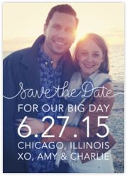 paperlesspost.com:  free save the date options where guests can reply with their mailing addresses! another option can be to send a save the date by email/PDF and then make a google form where guests can fill in their mailing addresses