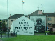 Derry, Northern Ireland Photo: Barb Lafontaine 9/2012