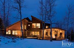 Cedar and Stone Modern Ski Home