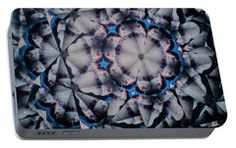 Portable Battery Charger featuring the photograph Kaleidoscope Snowman5 by Equad Images