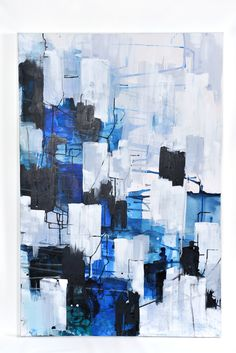 Captivating artwork for the Haymes 2015 Colour Forecast. Interior Paint, Color Trends, Interior Styling, Bedroom Ideas, Blues, Colours, Texture, Creative, Artist