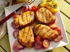 Peachy Mustard Pork Chops - Pork Recipes - Pork Be Inspired