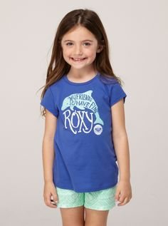 """""""My friends have fins."""" I only wish it came in bigger sizes for my daughter! From Roxy, sizes 2-6."""