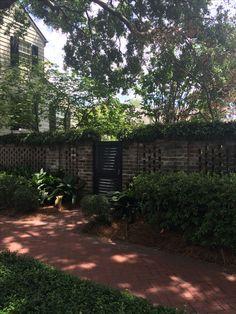 Unique Savannah Fence and Entry