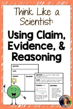 POST: What is CER (claim, evidence, and reasoning) and how to implement it in your science classroom Science Writing, Teaching Science, Science Education, Science Activities, Physical Science, Preschool Science, Science Experiments, Science Ideas, Teaching Ideas