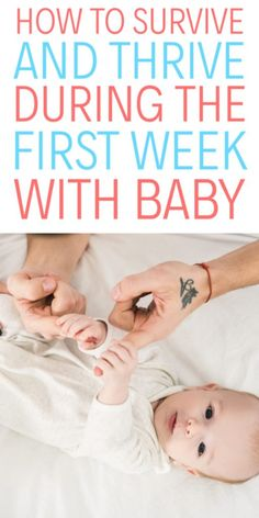 Bringing your newborn home from the hospital is exciting, but also very nerve wracking! Learn more now about how to survive the first week home with baby! First Pregnancy, Pregnancy Workout, Pregnancy Tips, Bringing Baby Home, Getting Ready For Baby, Baby First Week, Newborn Schedule, Pregnancy Information, Tips