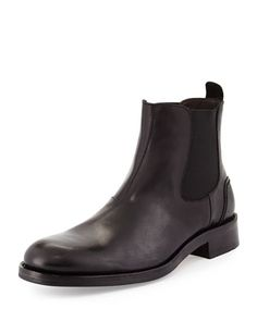 Montague 1000 Mile Leather Boot, Black by Wolverine at Neiman Marcus.