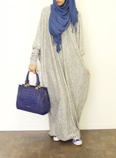 Hijab Fashion Are you ready for the winter? Hijab Fashion 2016, Abaya Fashion, Modest Fashion, Fashion Dresses, Womens Fashion, Hijab Style, Hijab Chic, Abaya Style, Modest Wear