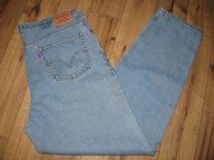 Levis 560 Mens Levi Blue Jeans 42 X 35 Comfort Fit Loose Fit  #Levis #ComfortFitLooseFit