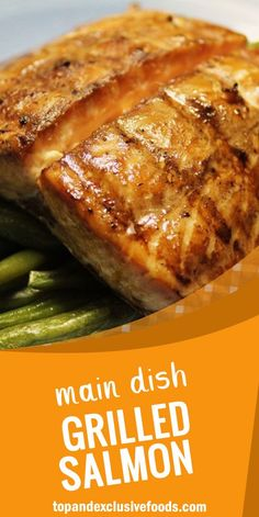 Grilled Salmon I – Quick Family Recipes