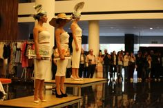 Inmaculada Jara y Ana Manzano nos han echo disfrutar con unos tocados muy originales. #AFW