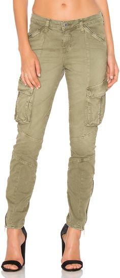 L Agence Montgomery Skinny Cargo Pant 160 Rosa Diaz