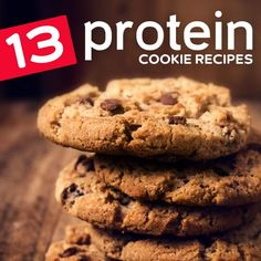 Have your dessert and after workout snack at the same time with these high protein cookies…