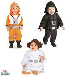 disfraces para ninos star wars lima