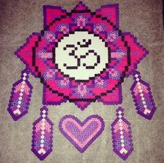 Dream catcher Perler Beads
