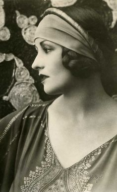Natacha Rambova (January 19, 1897 – June 5, 1966) was an American silent film costume and set designer, artistic director, screenwriter, producer and occasional actress. Later in life she worked as a mildly successful fashion designer and Egyptologist. She is best known as the second wife of film star Rudolph Valentino. VINTAGE PHOTOGRAPHY