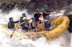 "whitewater-rafting trip on the ""Beast of the East."" West Virginia's Gauley River boasts the most intense whitewater rafting east of the Mississippi"