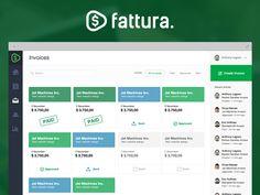 Fattura Invoices by Red Jasper #webapp #design #ui #ux #interface