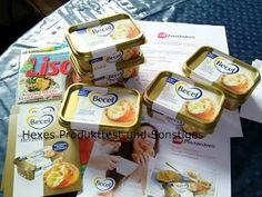 Hexes Test und Wuselseite: Becel Gold   mit Buttergeschmack Gesund und Lecker...