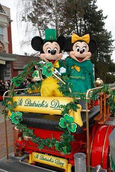 St Patricks Day in Paris
