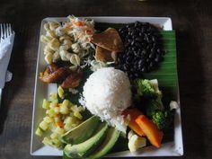 Classic food in La Fortuna, Costa Rica