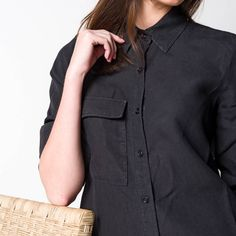 Coat, Jackets, Women, Fashion, Cotton Shirts, Linen Shirts, Green Cotton, Navy Blue, Black White