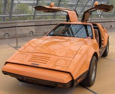 Bricklin SV-1, only about 2,500 ever produced. I WANT THIS CAR MORE THAN ANYTHING!!!