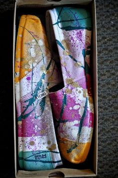 custom painted TOMs - Bing Images
