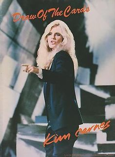Sheet Music 1981 Draw Of The Cards Kim Carnes 265