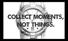 #Time #Life is precious #Quote #Material vs. Important