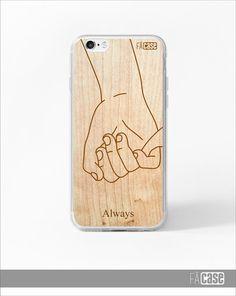 Capinha para iPhone mãos casal - namorados