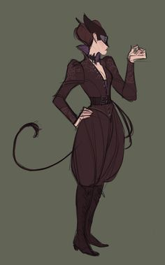 Simple and lovely steampunk Catwoman. Female Character Design, Character Design Inspiration, Character Concept, Character Art, Fantasy Inspiration, Story Inspiration, Story Ideas, Otto Schmidt, Zbrush