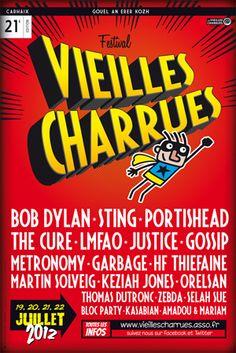 Le plus grand festival de france  Les Vieilles Charrues !  Finistère Bretagne