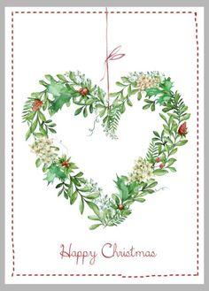 Victoria Nelson - Xmas Leaf Wreath