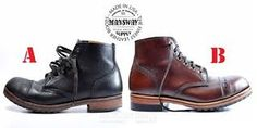 Mansway boots produced by William Lennon & Co Ltd, UK.