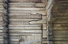 Shear Connection - Open Air Museum of traditional Finnish architecture and culture Finnish Wood Detailing