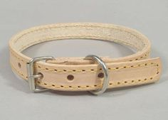 Buy exceptionally Beige Leather stylish #dogCollar  at  14 .95 form cooldogs.com.au.