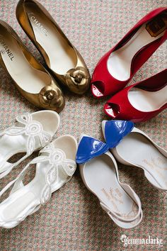 Nicole and Tim's Quirky Wedding – St Patrick's Church, Mortlake and Aria Restaurant Chanel Ballet Flats, Ballet Shoes, Dance Shoes, Restaurant Music, Quirky Wedding, String Quartet, Sydney Wedding, Something Blue, Hugo Boss