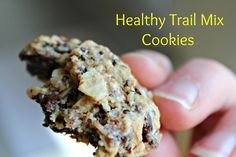 Healthy Trail Mix Cookies   @paigeran  Runningaroundnorm...