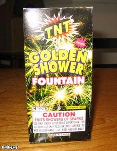 Got my fireworks I hope it's not wet tonight.