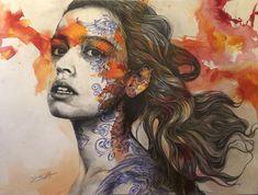 Gabriel, A Level Art Sketchbook, Art Alevel, New Zealand Art, Identity Art, Elements Of Art, Portrait Art, Portraits, Art Pages