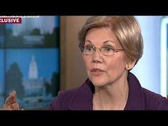 Elizabeth Warren Justifies Hillary Clinton Endorsement After Bankruptcy Bill Criticism - YouTube
