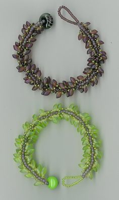 Tracy Van Niel: Magatama Spiral Bracelet Class at Gahanna Bead Studio
